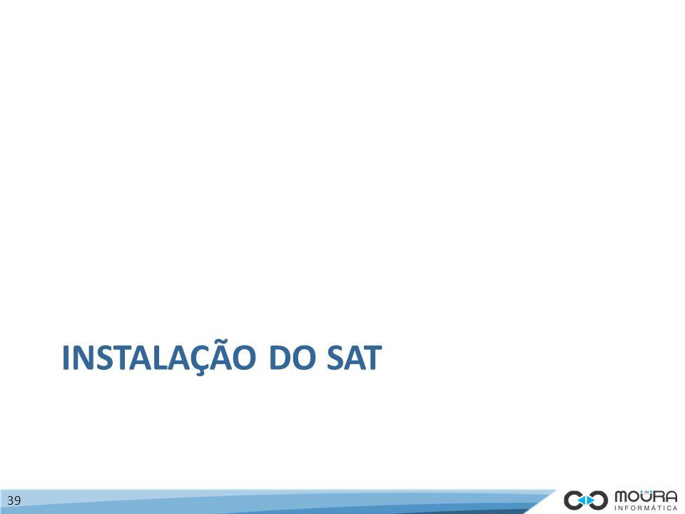 Instalação do SAT