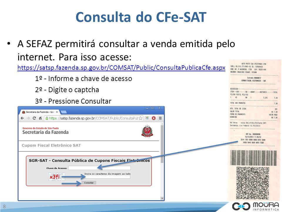 Consulta do CFe-SAT
