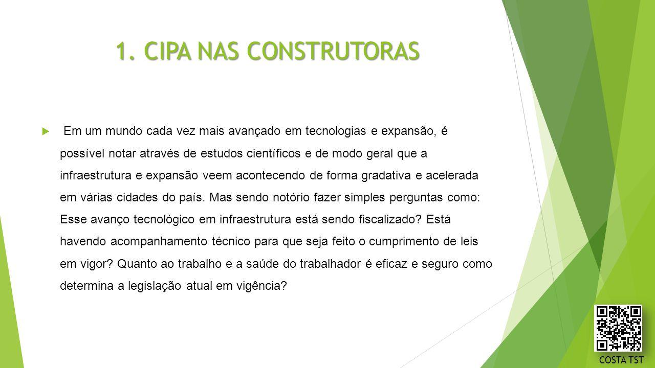 1. CIPA NAS CONSTRUTORAS