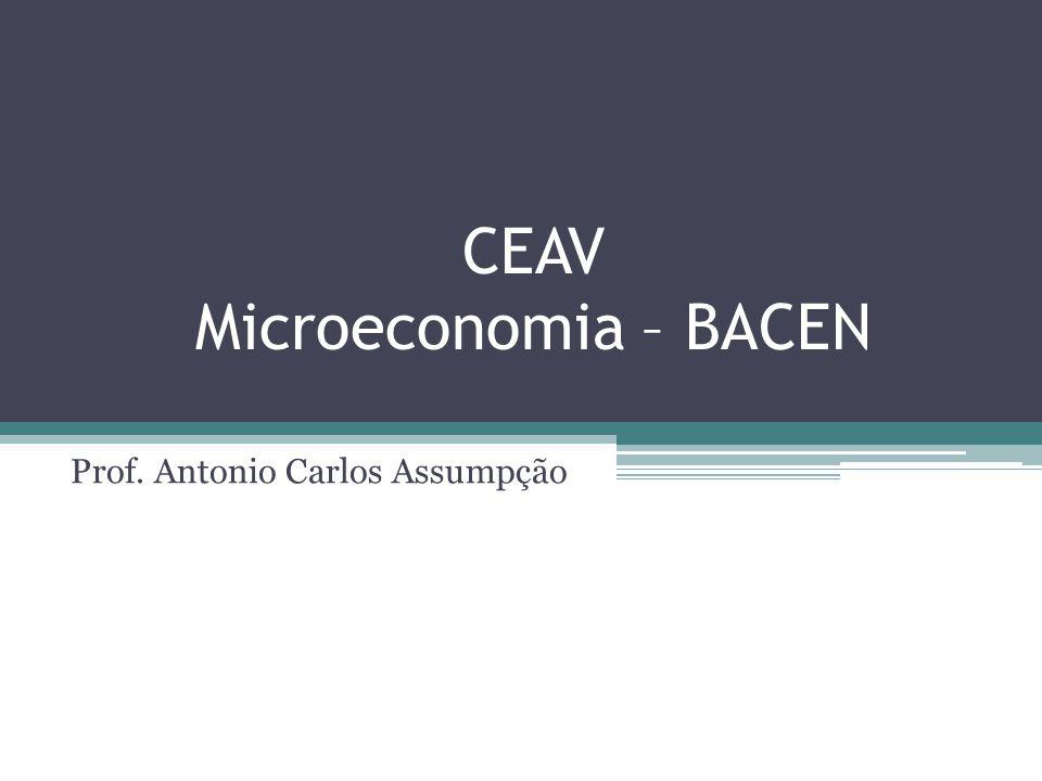 CEAV Microeconomia – BACEN