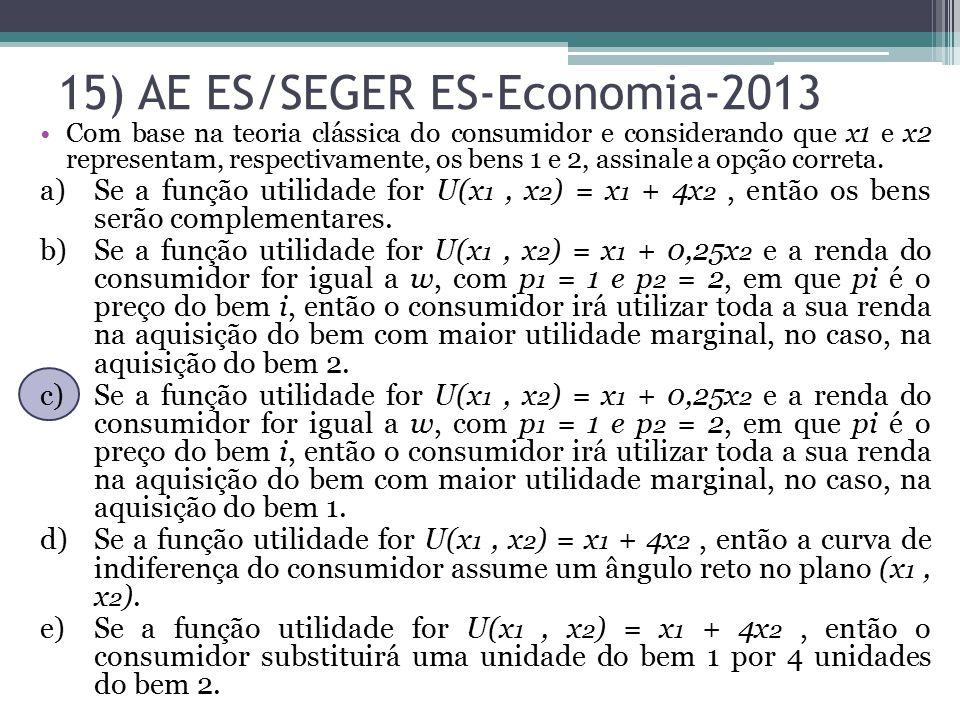 15) AE ES/SEGER ES-Economia-2013