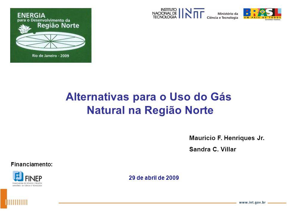 Alternativas para o Uso do Gás Natural na Região Norte
