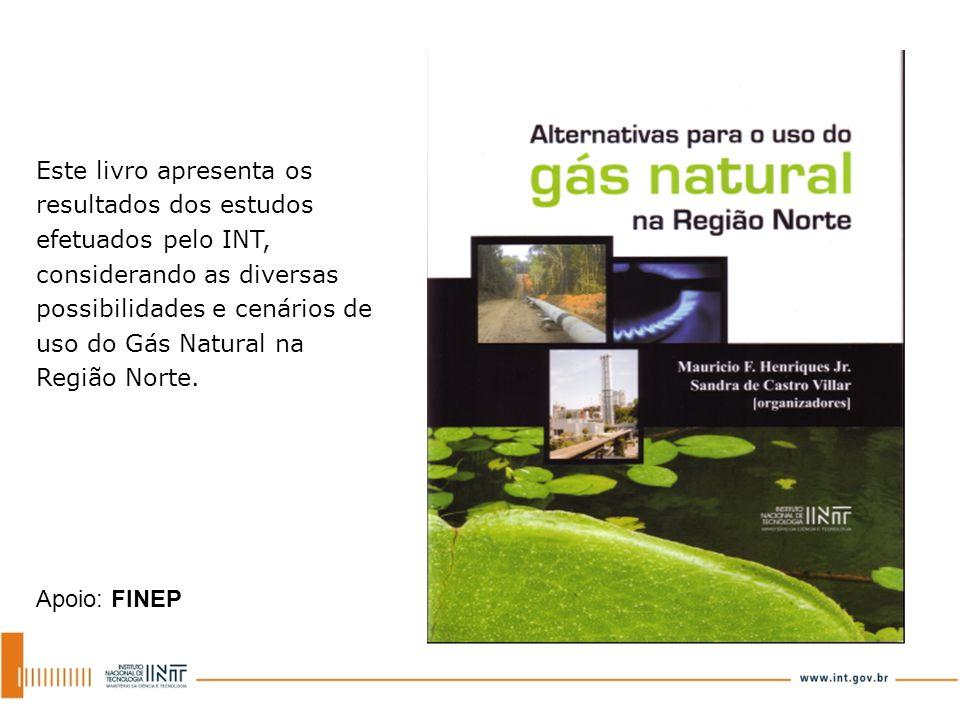 Este livro apresenta os resultados dos estudos efetuados pelo INT, considerando as diversas possibilidades e cenários de uso do Gás Natural na Região Norte.