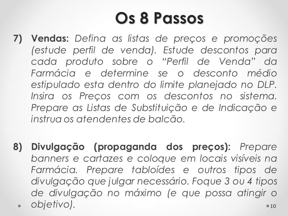Os 8 Passos