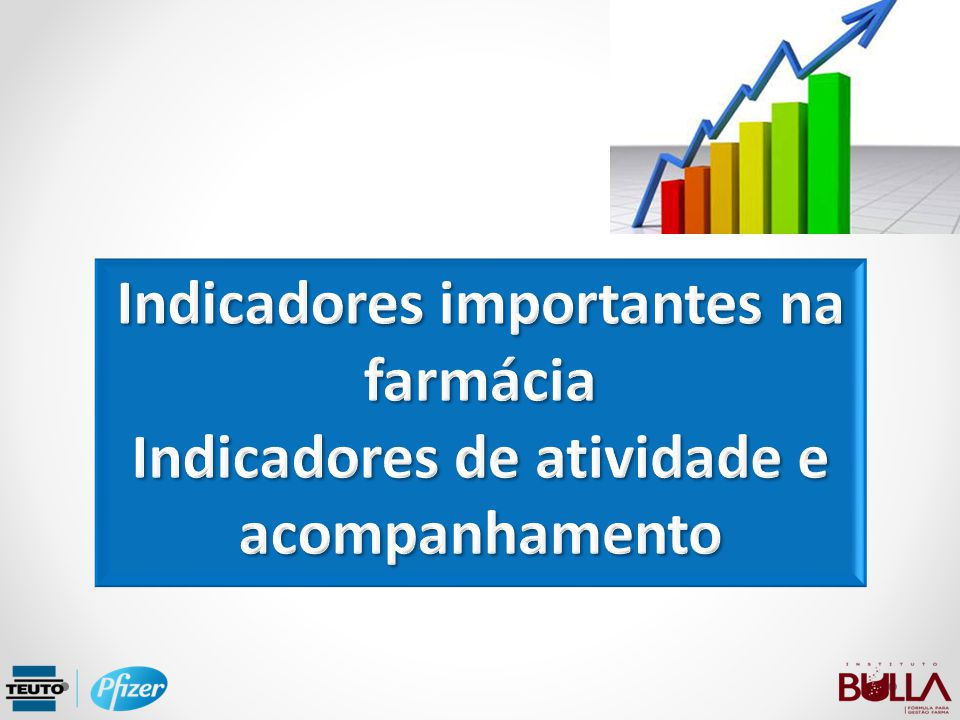 Indicadores importantes na farmácia Indicadores de atividade e acompanhamento