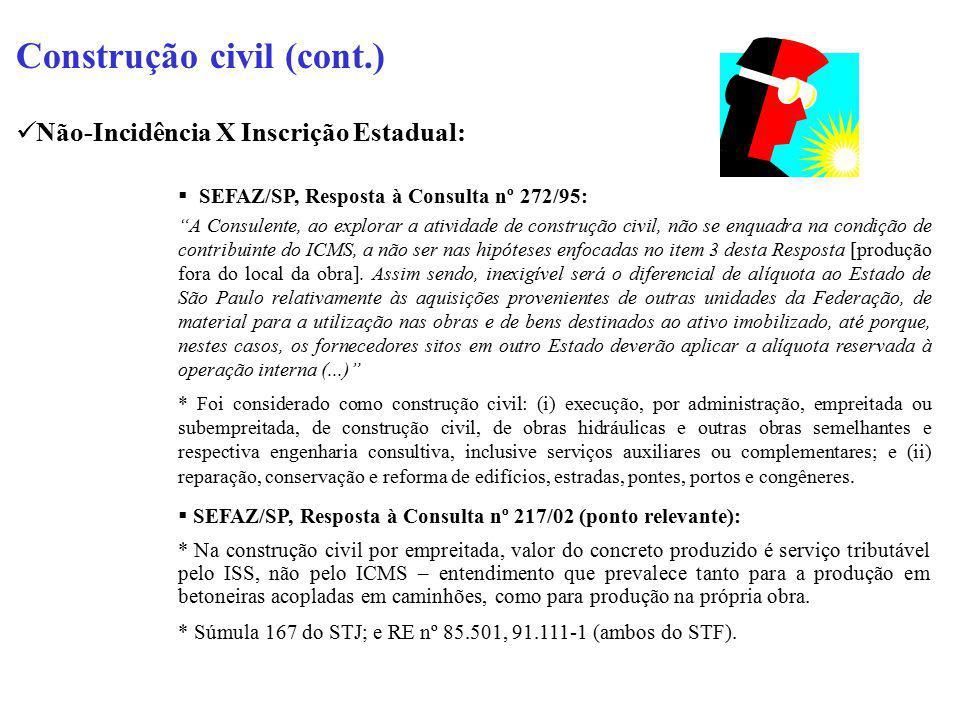 Construção civil (cont.)