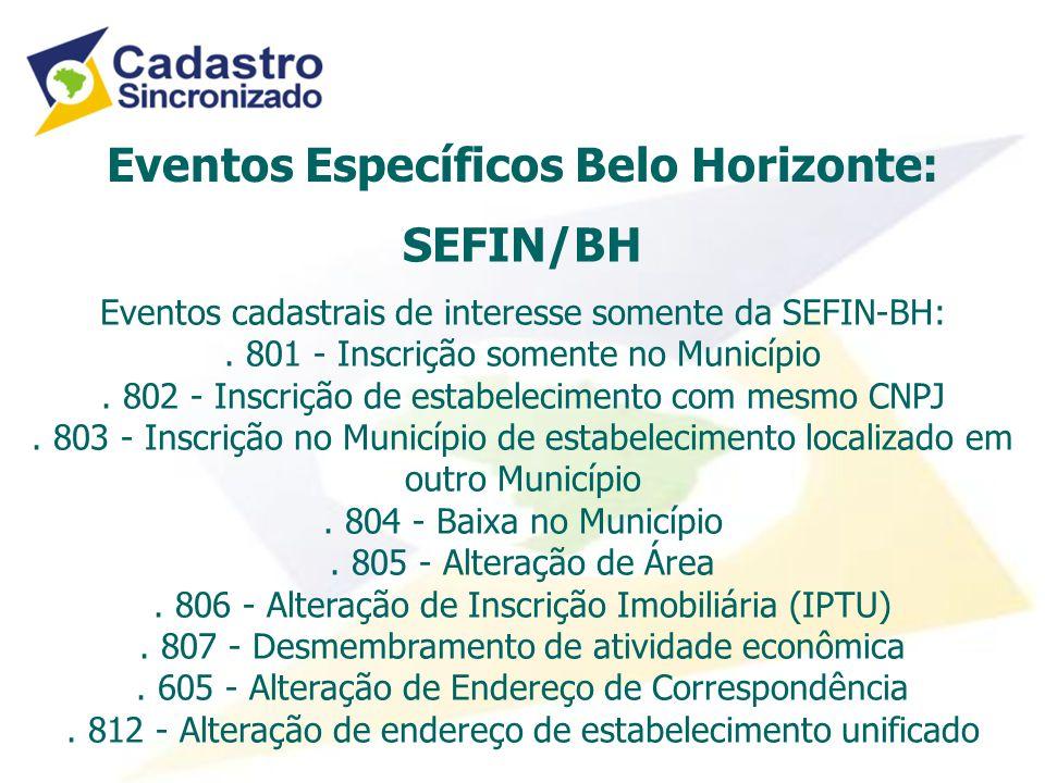 Eventos Específicos Belo Horizonte: