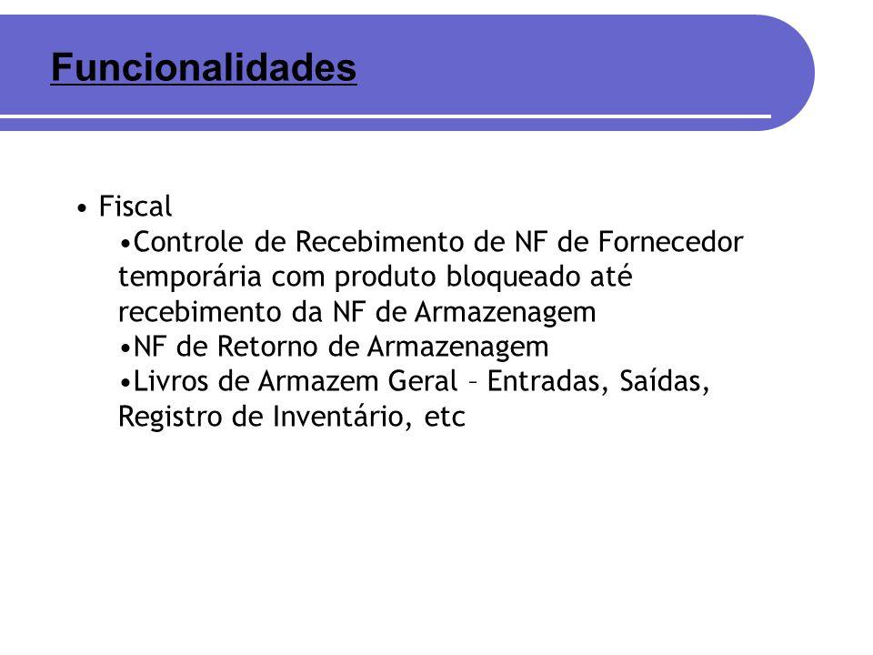 Funcionalidades Fiscal