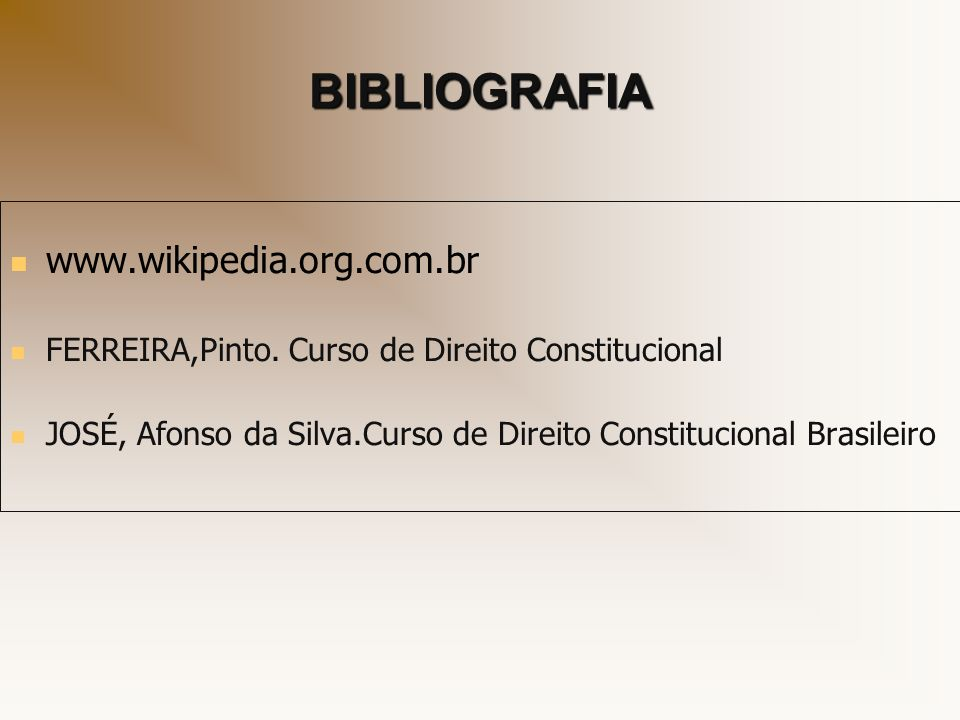 BIBLIOGRAFIA www.wikipedia.org.com.br