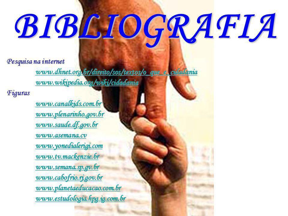BIBLIOGRAFIA Pesquisa na internet