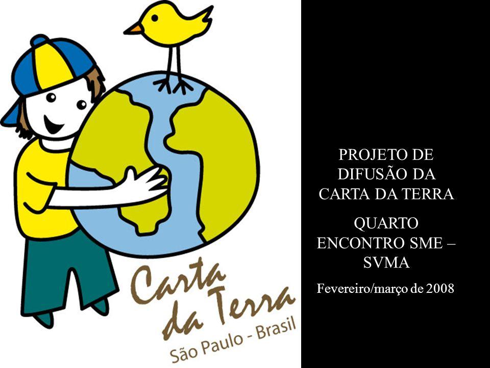 PROJETO DE DIFUSÃO DA CARTA DA TERRA