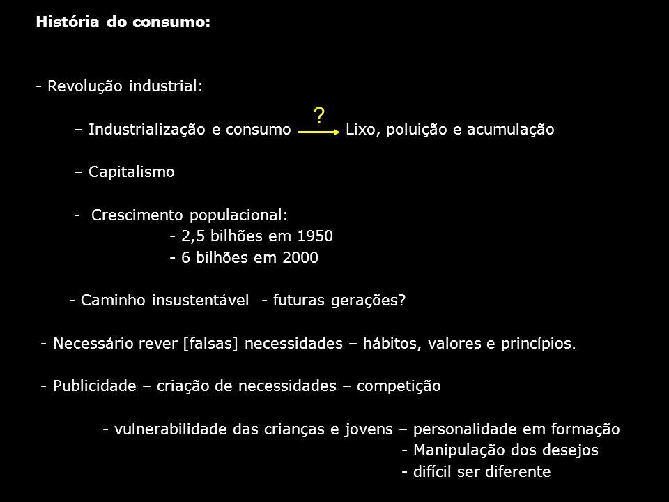 História do consumo: Revolução industrial: