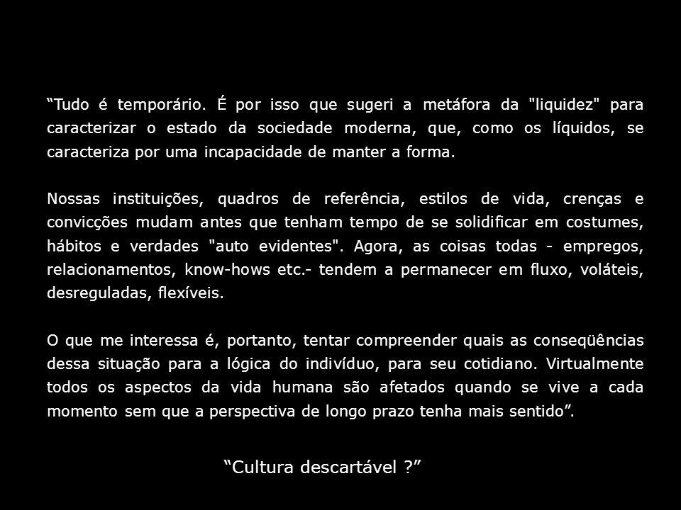 Cultura descartável
