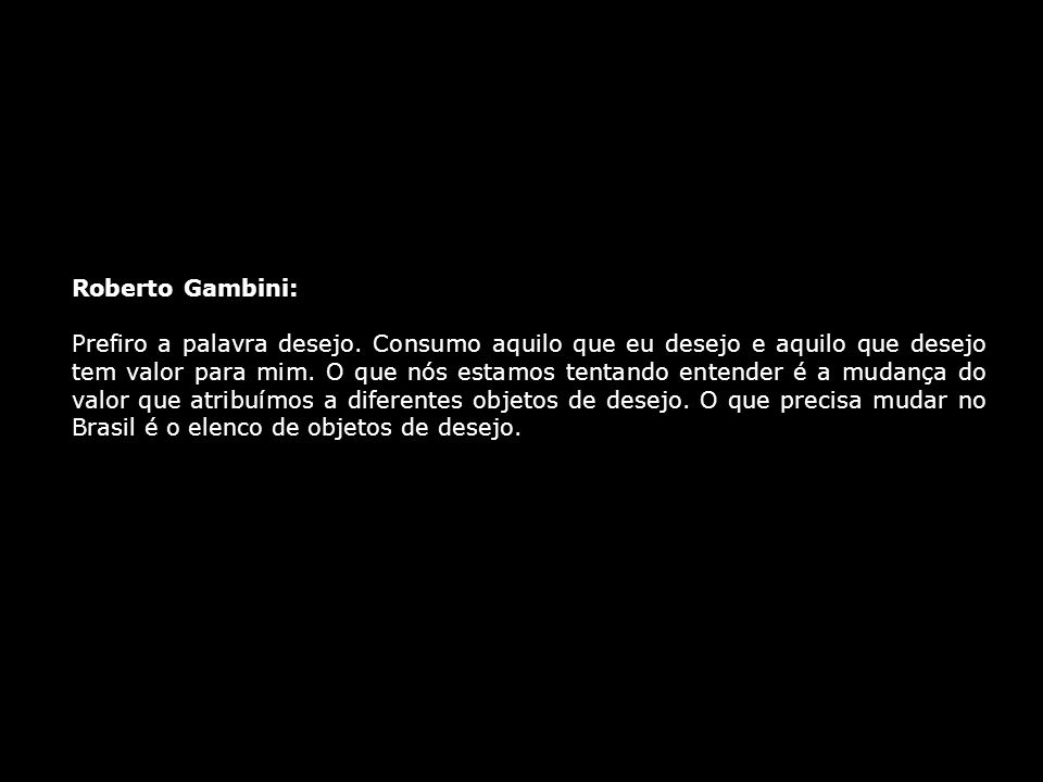 Roberto Gambini: