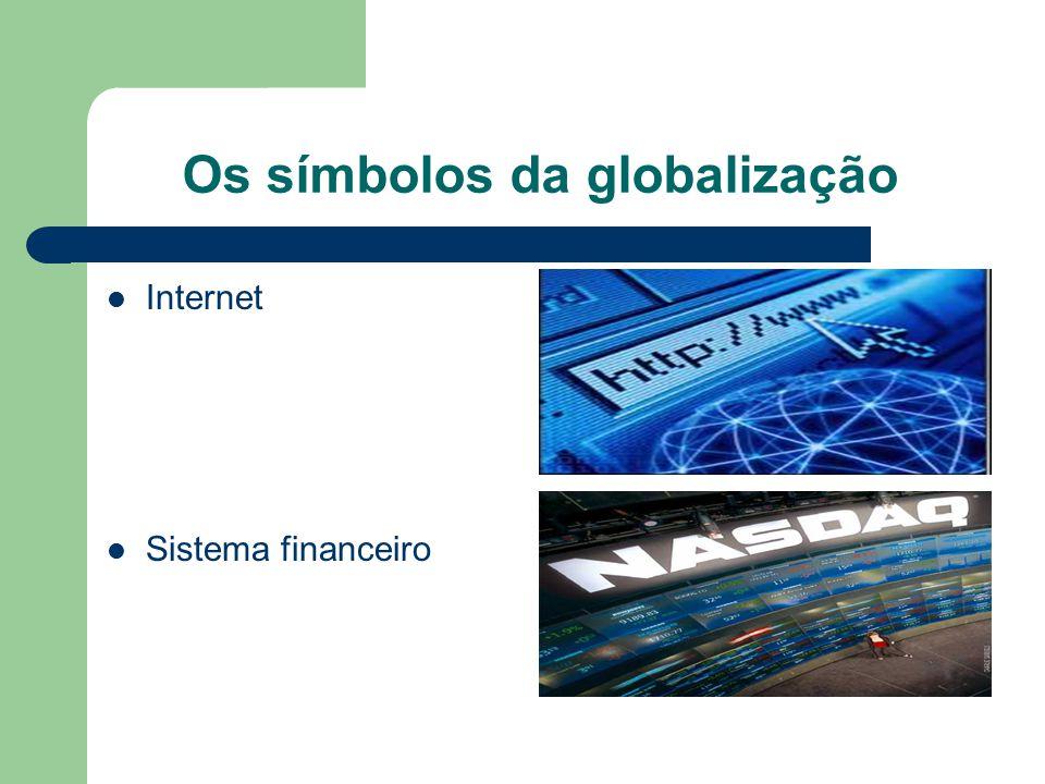 Os símbolos da globalização