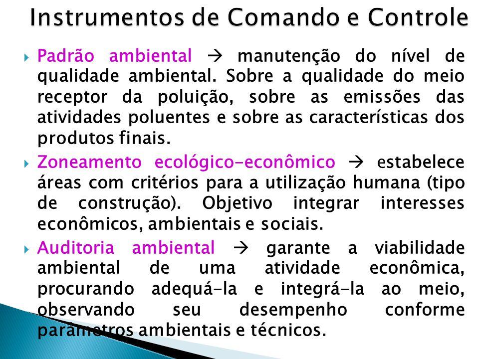 Instrumentos de Comando e Controle