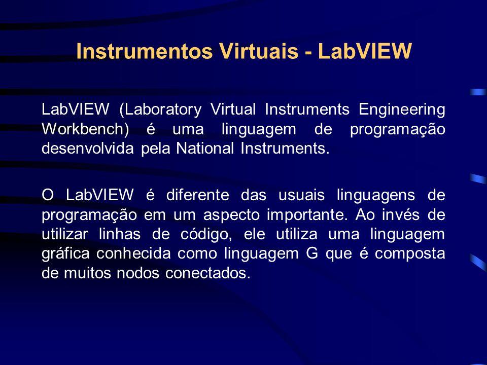 Instrumentos Virtuais - LabVIEW