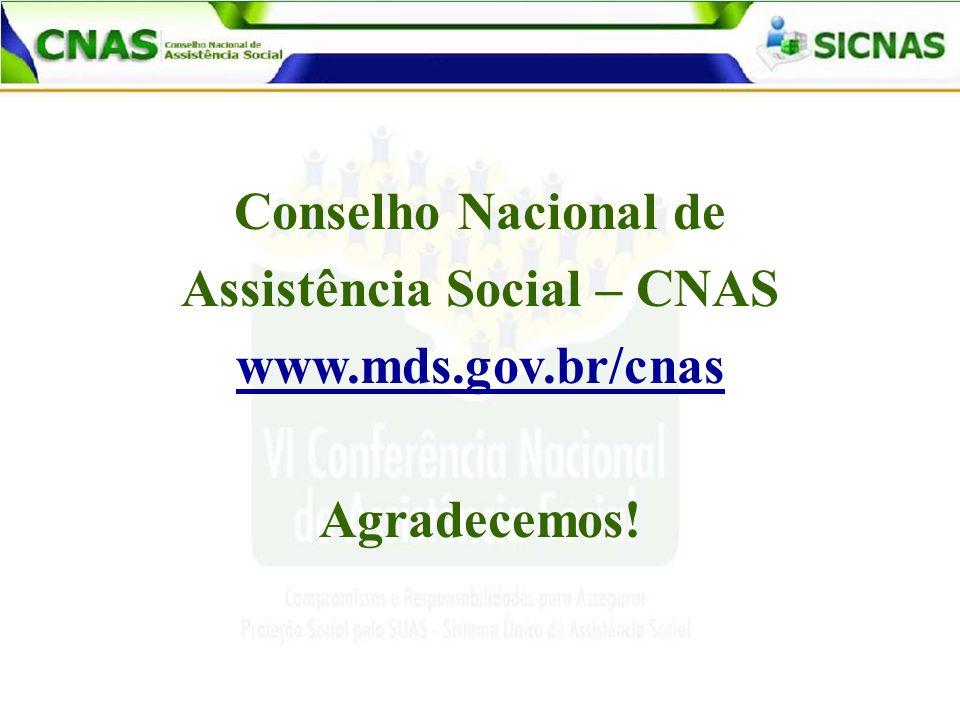 Assistência Social – CNAS