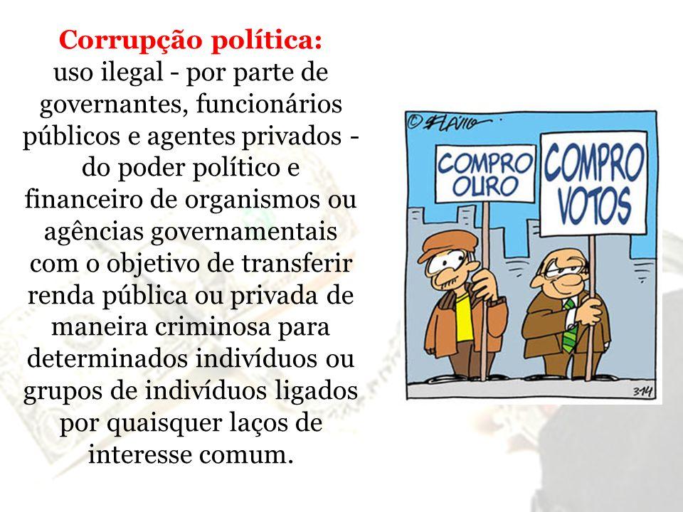 Corrupção política: