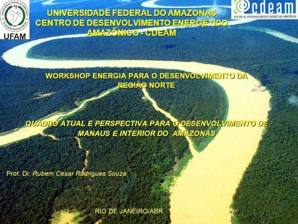 WORKSHOP ENERGIA PARA O DESENVOLVIMENTO DA REGIÃO NORTE