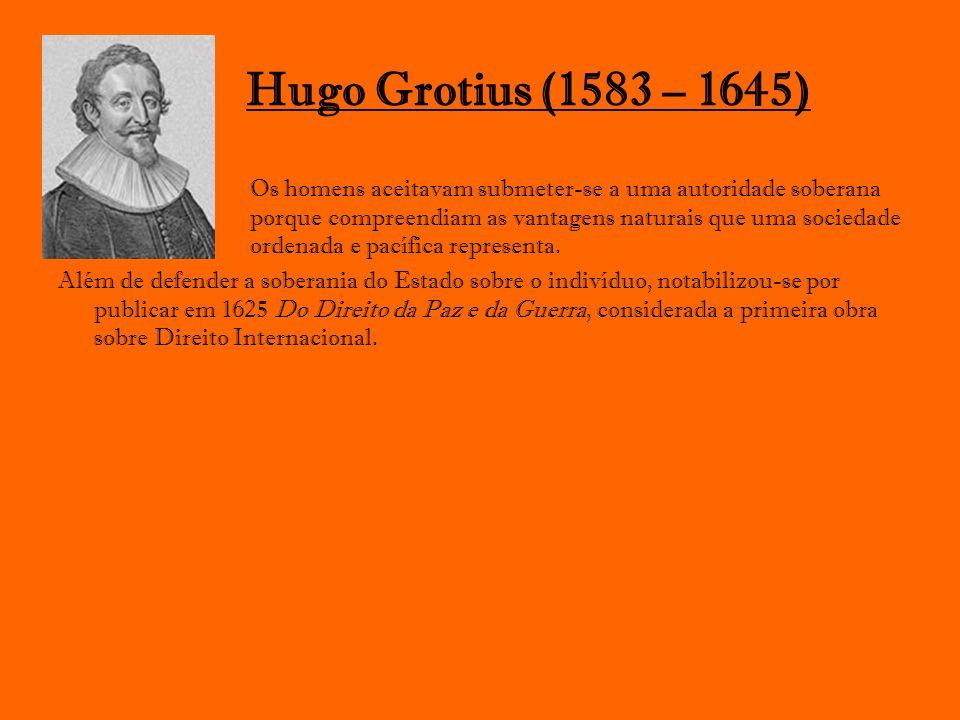Hugo Grotius (1583 – 1645)