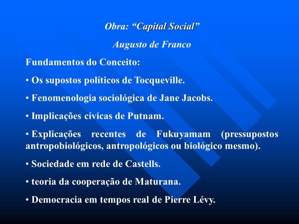 Obra: Capital Social