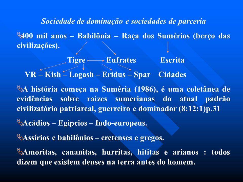 Sociedade de dominação e sociedades de parceria
