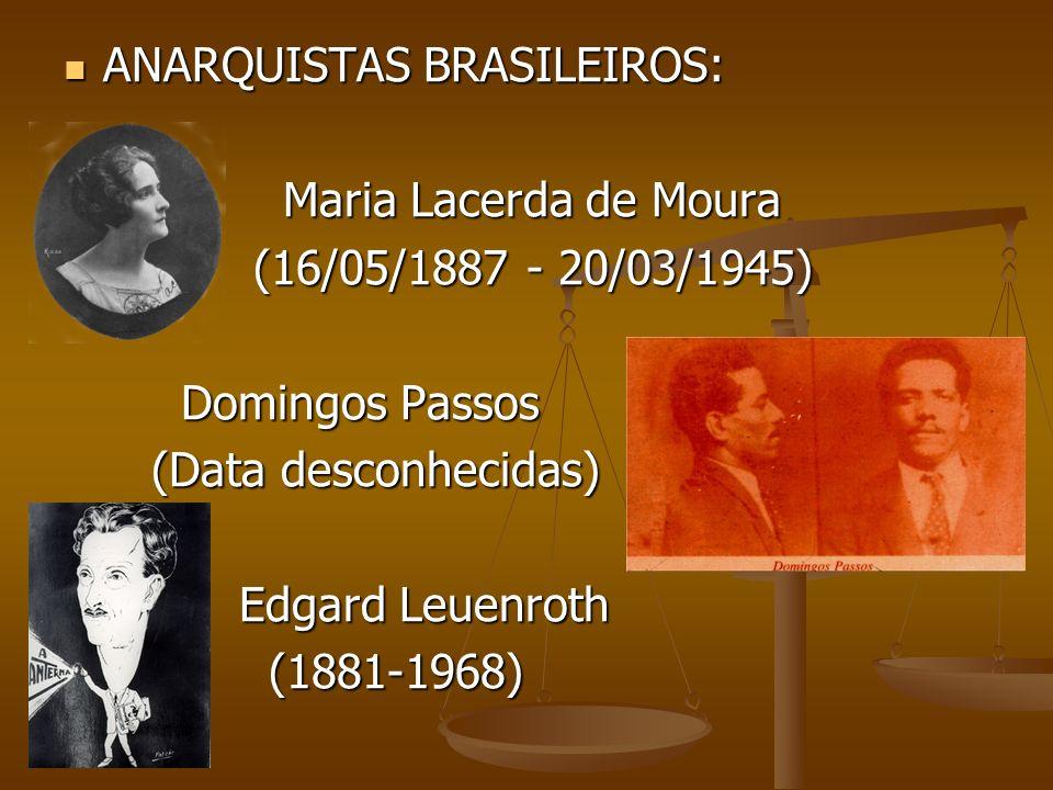 ANARQUISTAS BRASILEIROS: