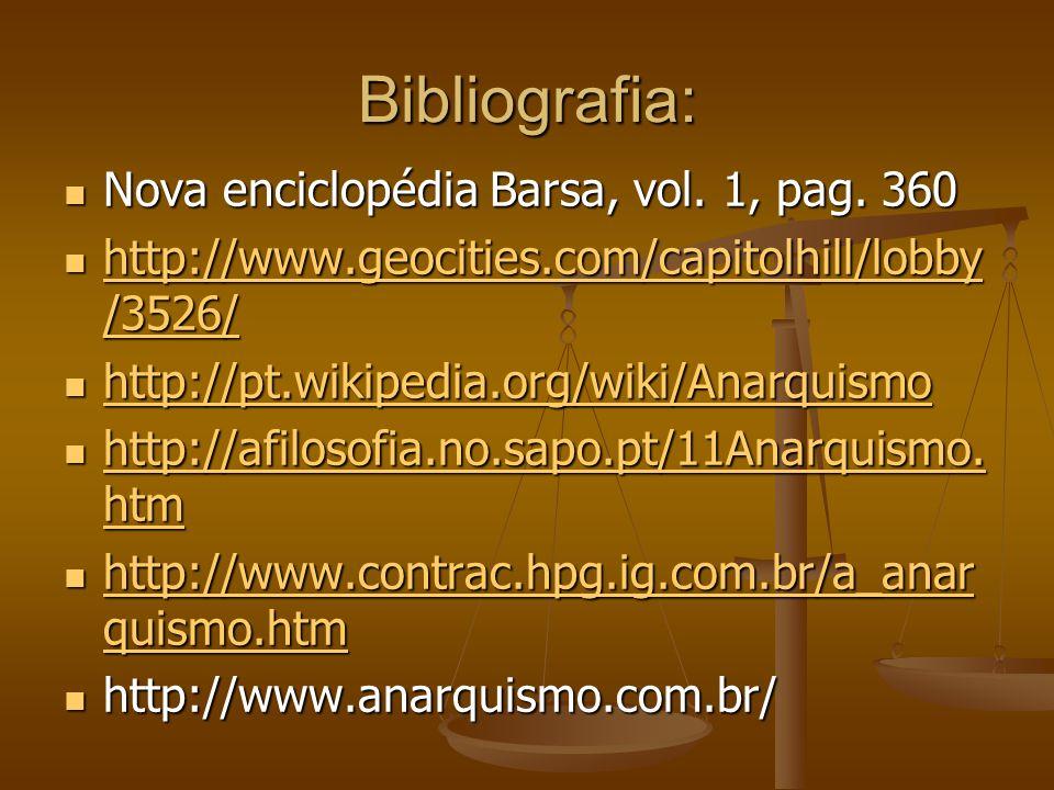 Bibliografia: Nova enciclopédia Barsa, vol. 1, pag. 360