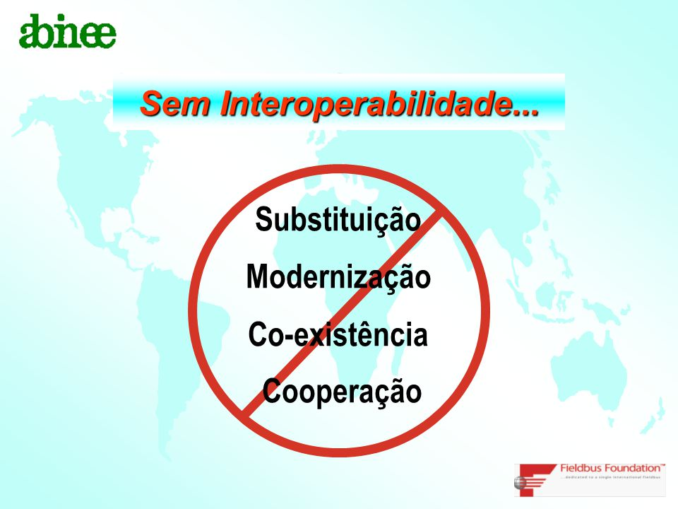 Sem Interoperabilidade...