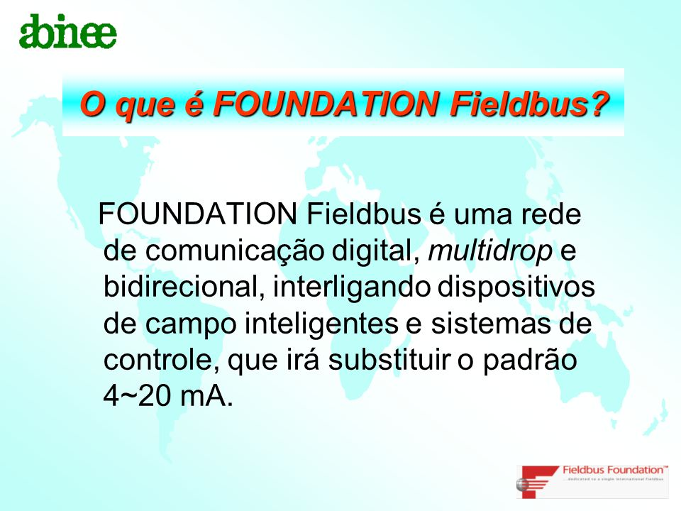 O que é FOUNDATION Fieldbus
