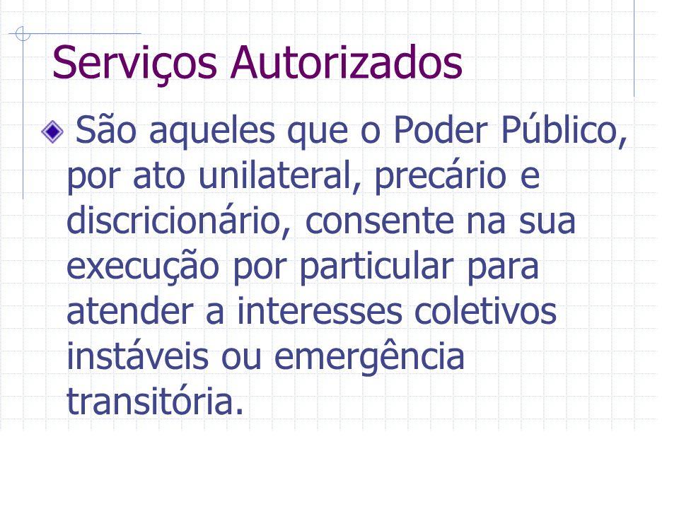 Serviços Autorizados