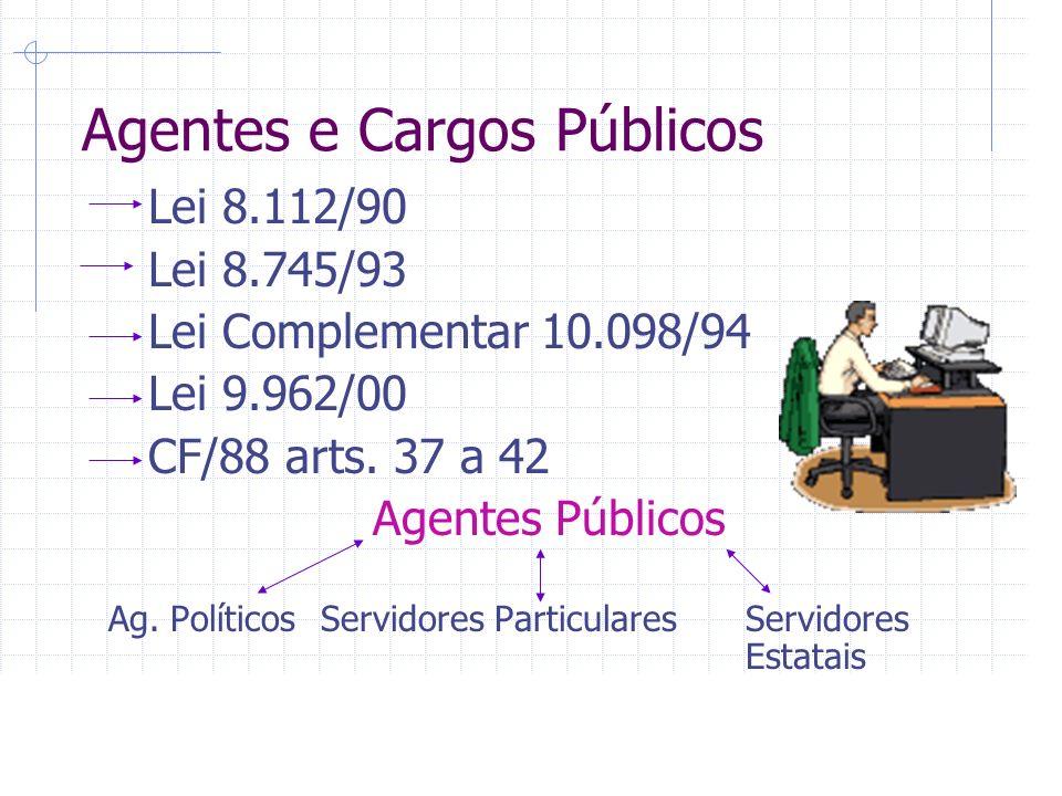 Agentes e Cargos Públicos