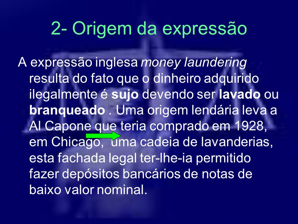 2- Origem da expressão