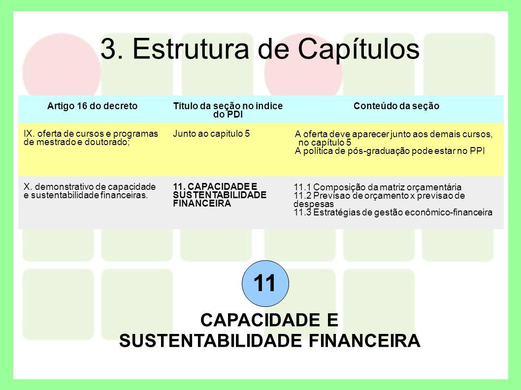 3. Estrutura de Capítulos