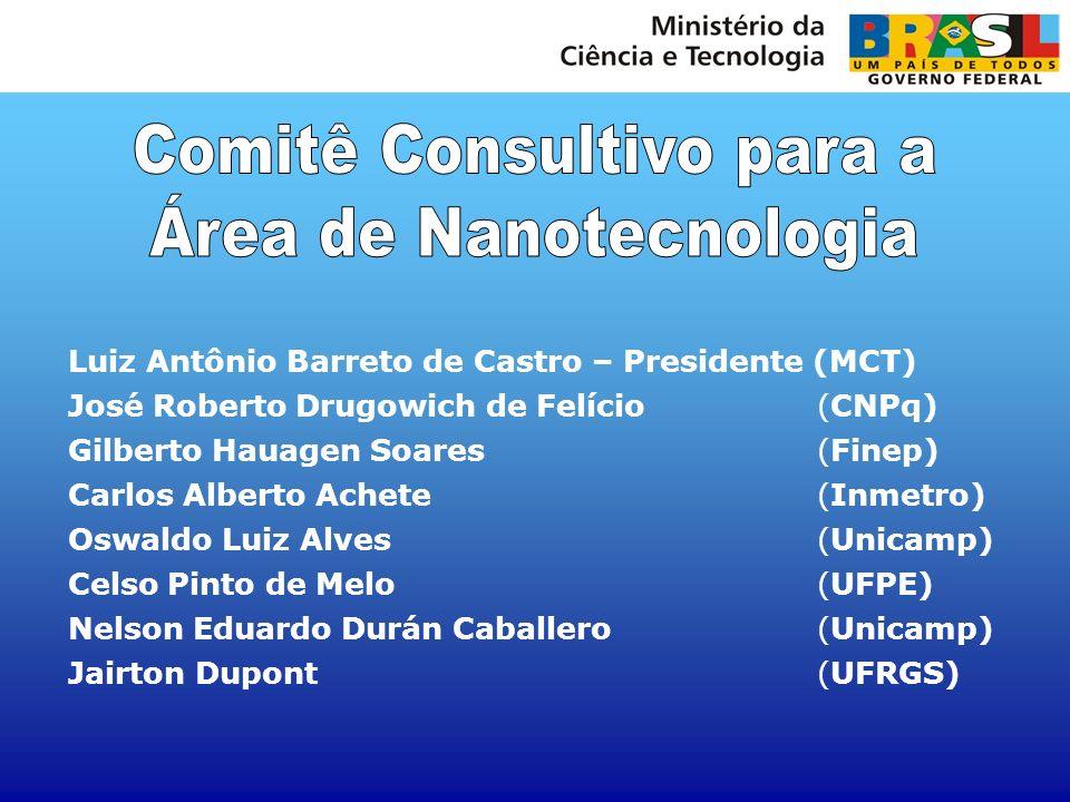 Comitê Consultivo para a Área de Nanotecnologia