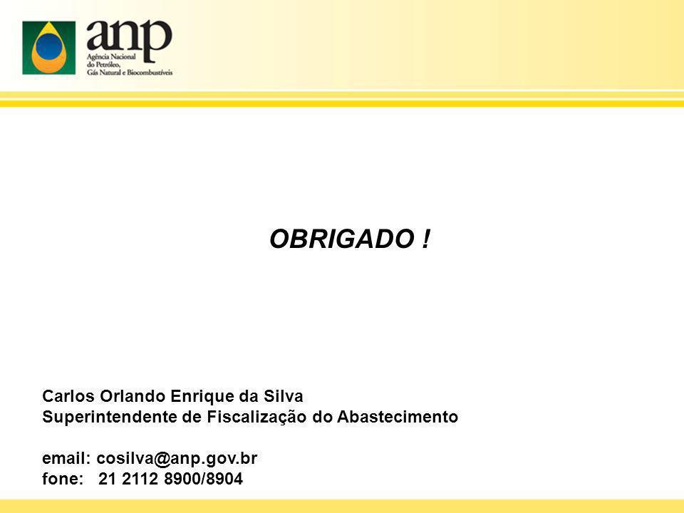 OBRIGADO ! Carlos Orlando Enrique da Silva