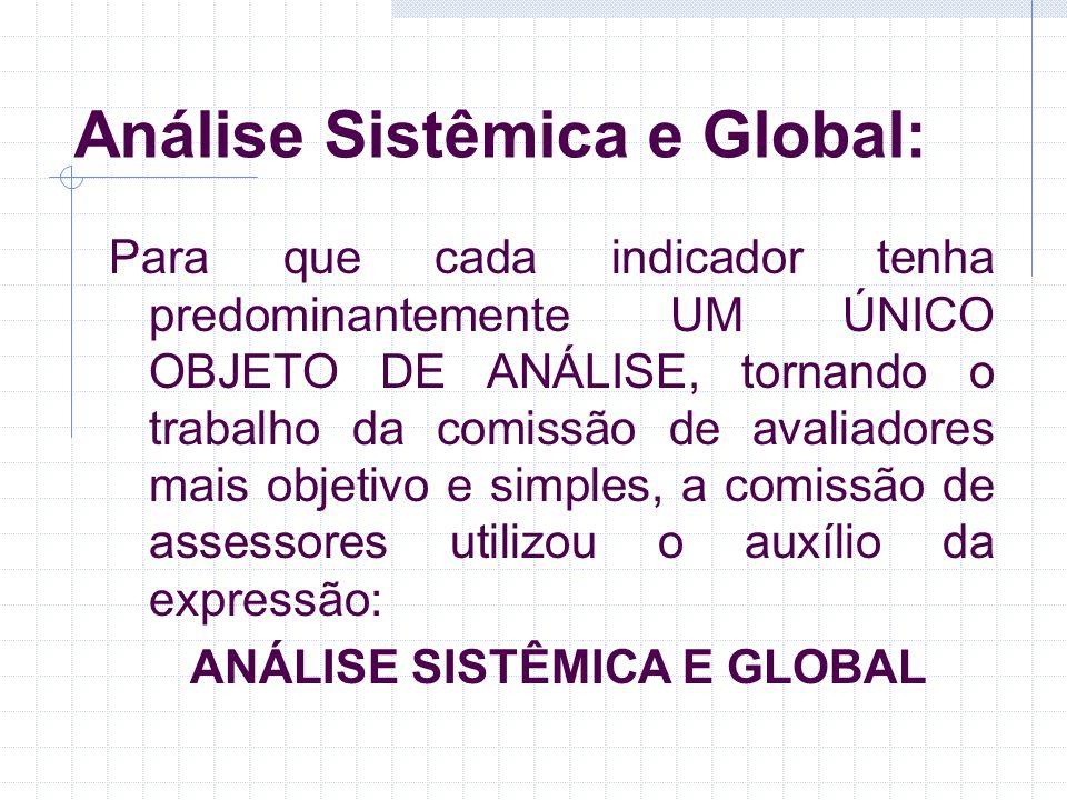 Análise Sistêmica e Global: