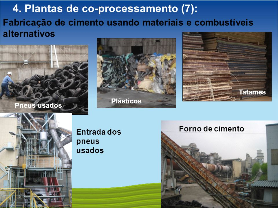 4. Plantas de co-processamento (7):