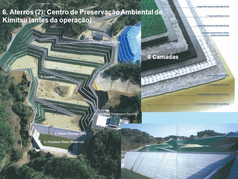 6. Aterros (2): Centro de Preservação Ambiental de Kimitsu (antes da operação)