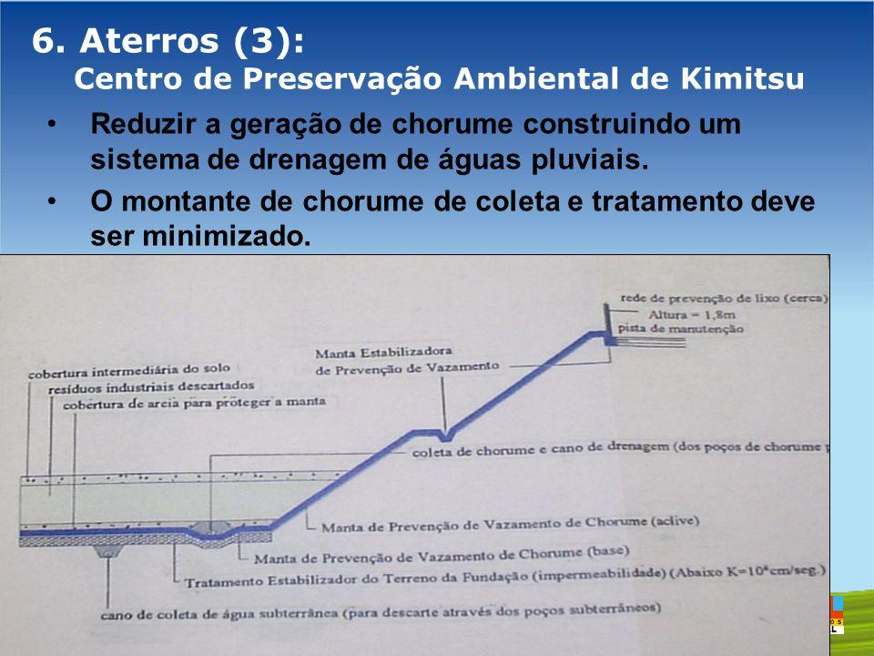6. Aterros (3): Centro de Preservação Ambiental de Kimitsu