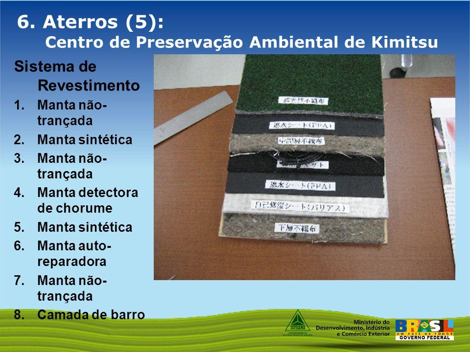 6. Aterros (5): Centro de Preservação Ambiental de Kimitsu