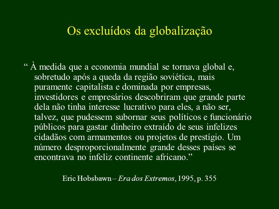 Os excluídos da globalização