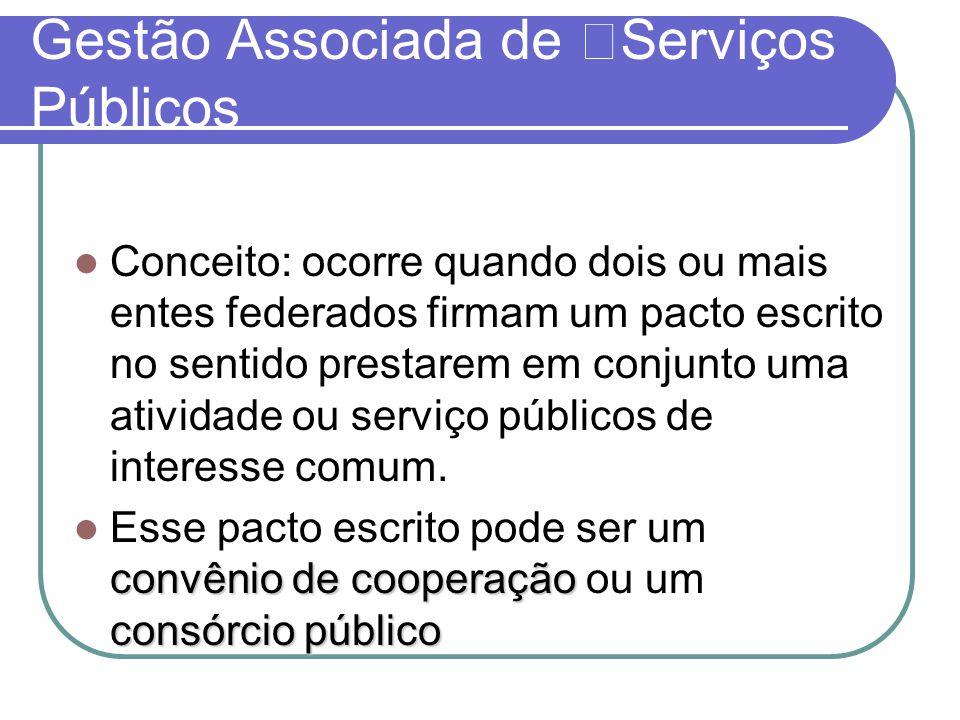Gestão Associada de Serviços Públicos