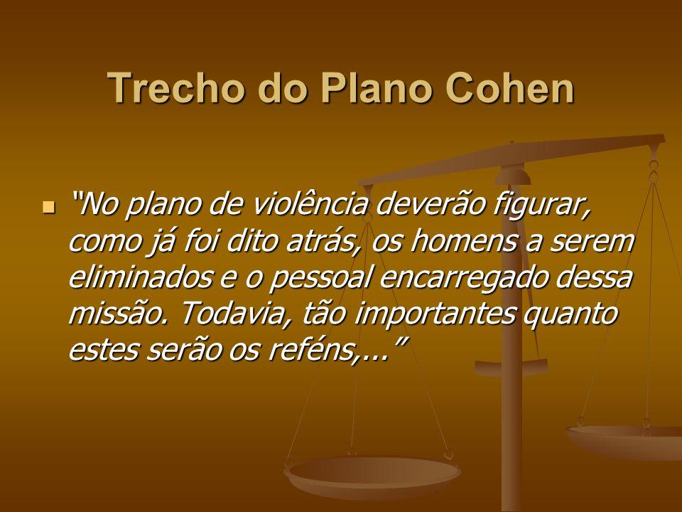 Trecho do Plano Cohen