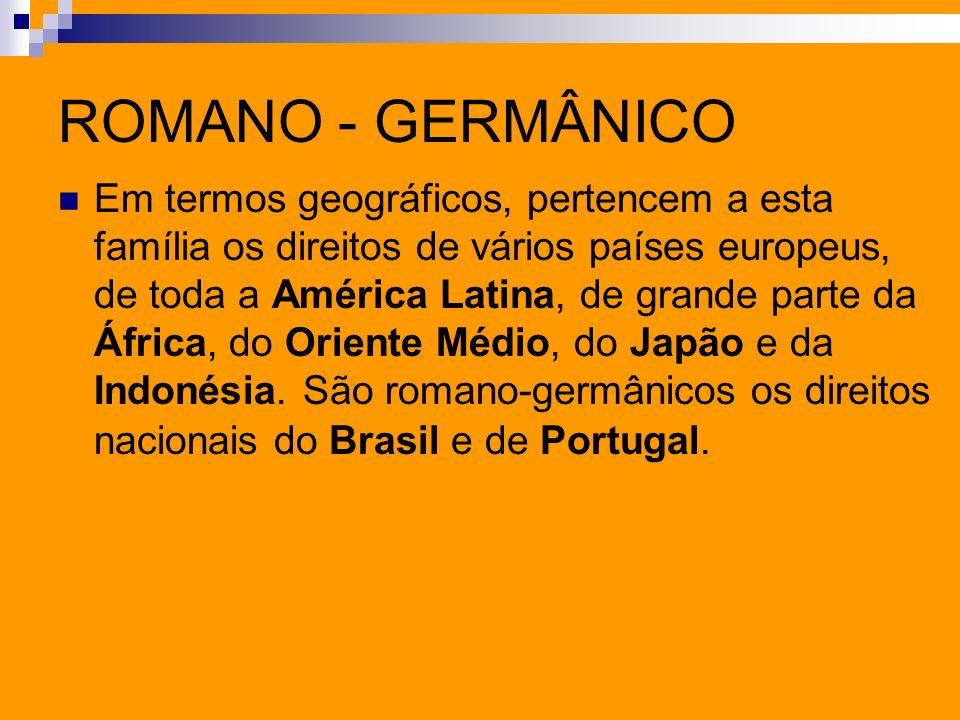 ROMANO - GERMÂNICO