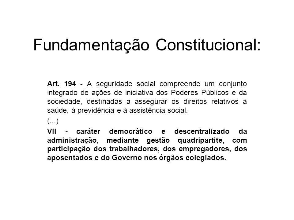 Fundamentação Constitucional: