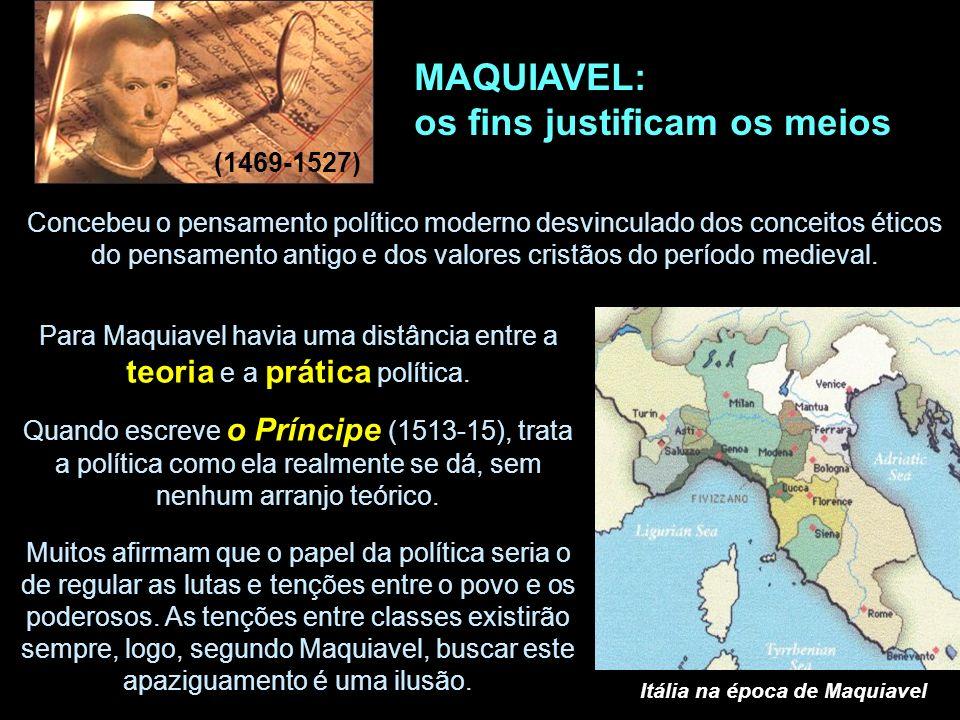 Itália na época de Maquiavel