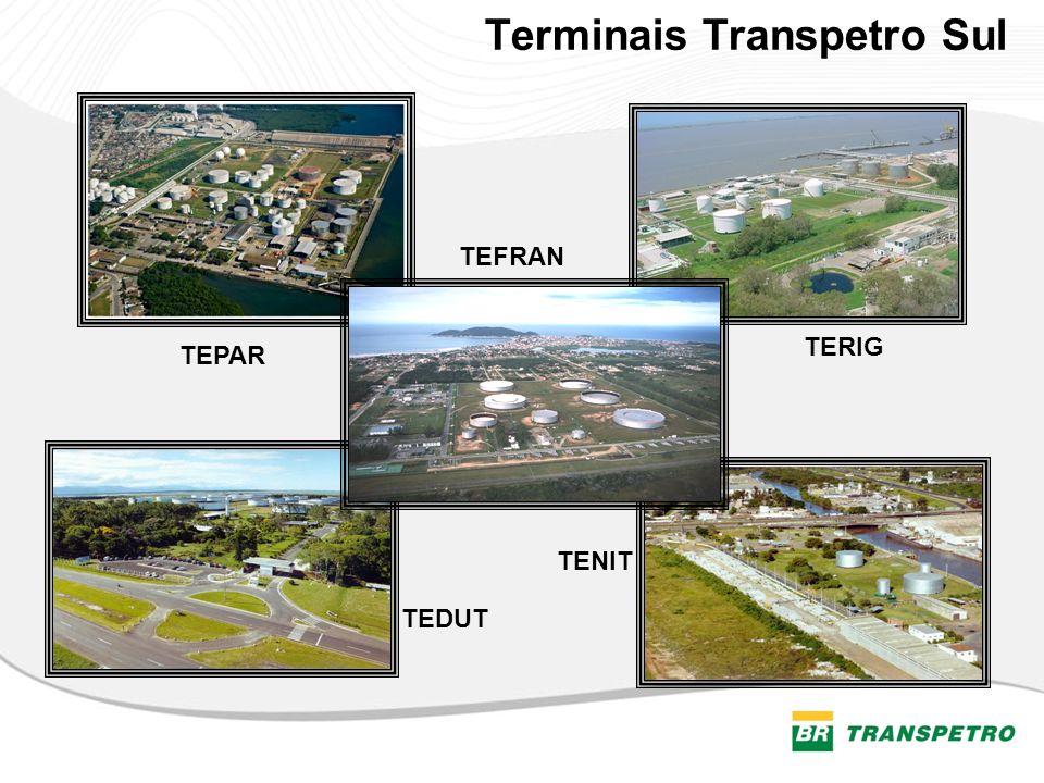 Terminais Transpetro Sul
