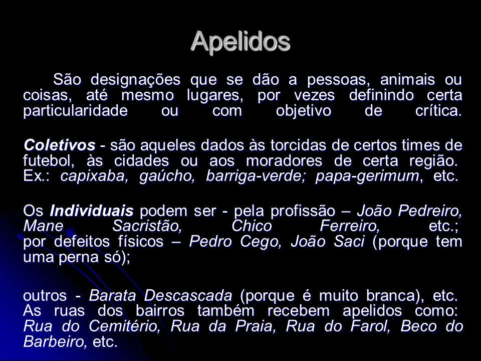 Apelidos
